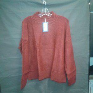 Women's Mock Turtleneck Pullover Sweater
